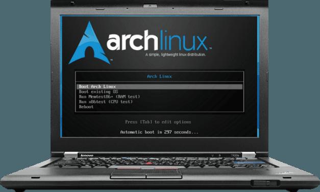 Thinkparch – Archlinux on a Thinkpad